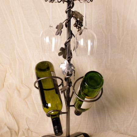 portable wine rack