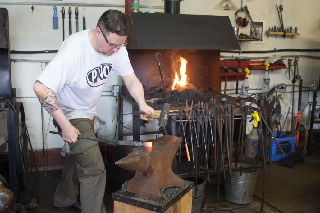 Blacksmith Workshops - FireHouse Ironworks Ltd