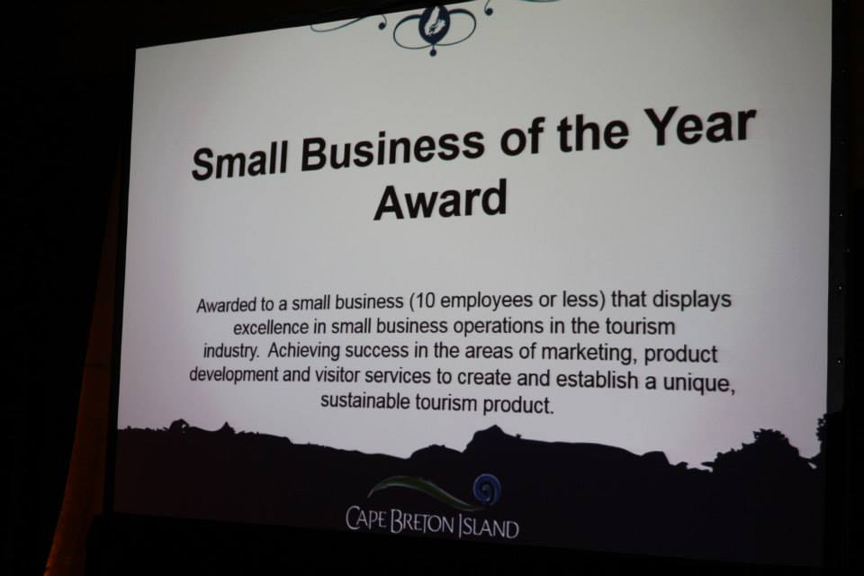 Small Business of the Year Description